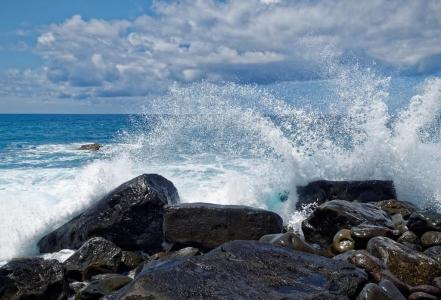 Welle, Meer, Wolke