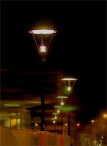 Burghausen bei Nacht