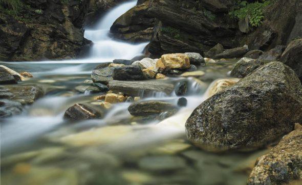 Wasserfall im Krumltal