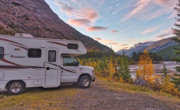 Wohnwagen in Kanada (HDR)
